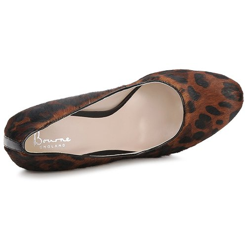 Mujer De Leopardo Laura Zapatos Tacón Bourne rdCWBoex