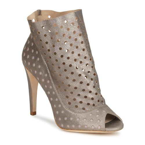 Mujer Botines Plata Zapatos Rita Bourne uKJ31cTlF