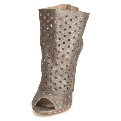 Mujer Botines Plata Rita Bourne Zapatos mnPN0y8vwO