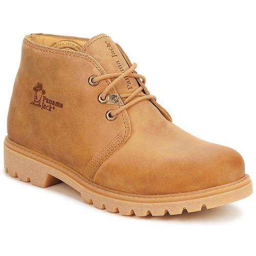 Zapatos Hombre Botas de caña baja Panama Jack BOTA C1 Vintage / Tan