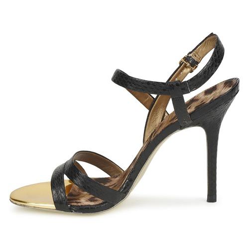Abbott Mujer Sam NegroSnake Edelman Zapatos Sandalias L5AR4j3