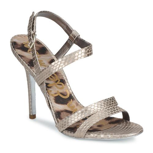 Cómodo y bien parecido Sam Edelman ABBOTT Plata - Envío gratis Nueva promoción - Zapatos Sandalias Mujer  Plata