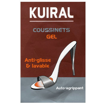 Accesorios Mujer Complementos de zapatos Kuiral COUSSINET GEL 0.0