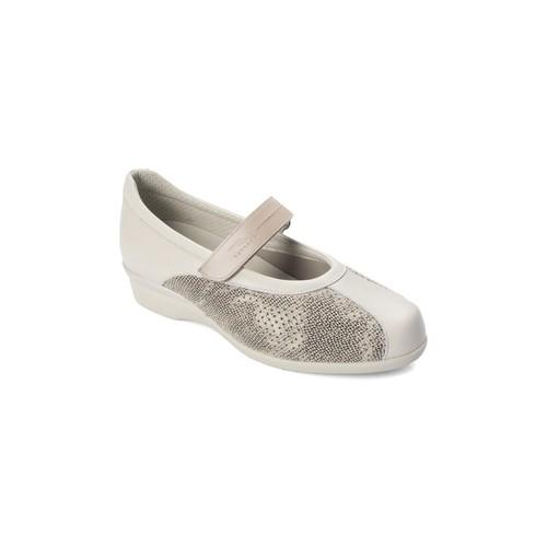 Zapatos Mujer Bailarinas-manoletinas Dtorres ZAPATOS  LIEJA BAILARINA ANCHA COMODA BEIGE