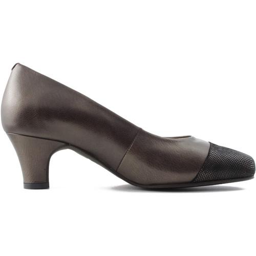 Zapatos Mujer Zapatos de tacón Drucker Calzapedic Y ANCHO MARRON