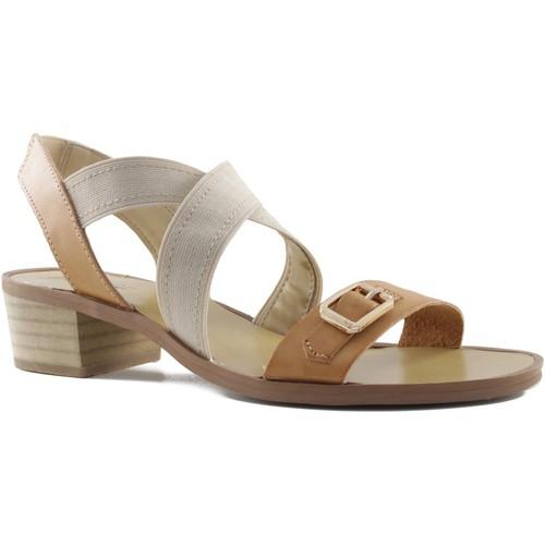 Zapatos Mujer Sandalias MTNG MUSTANG SANDALIA VACHE TACON CUADRADO CUERO