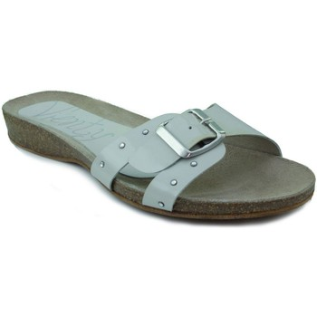 Zapatos Mujer Zuecos (Mules) Vienty BIO PLANO CHAROL BEIGE