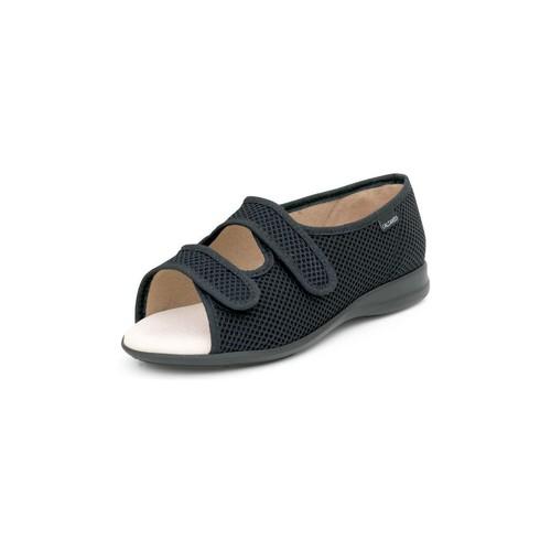 Zapatos Mujer Sandalias Calzamedi SANDALIA ABIERTA VELCROS ANATOMICA NEGRO