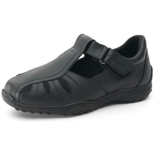 Zapatos Hombre Derbie Calzamedi DIABETICO Y NEGRO