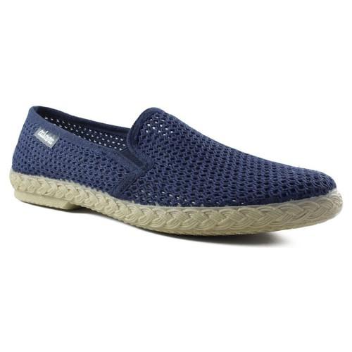 Zapatos Hombre Alpargatas Cabrera REJILLA HOMBRE AZUL