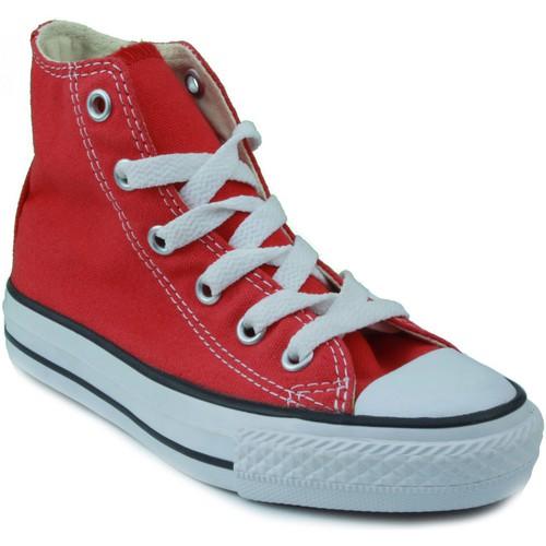 Zapatos Niños Zapatillas altas Converse ALL STAR ROJO
