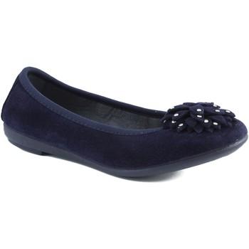 Zapatos Niña Bailarinas-manoletinas Vulladi CHICA CON GOMA AZUL