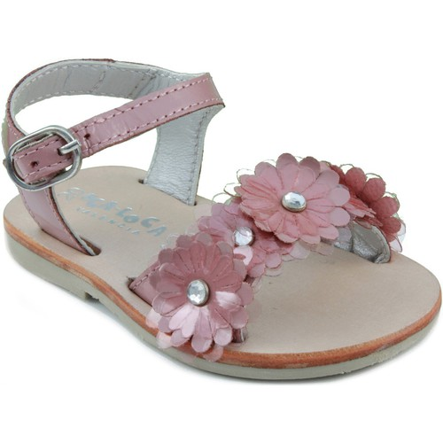 Zapatos Niños Sandalias Oca Loca OCA LOCA SANDALIA PIEL CHAROL PINK