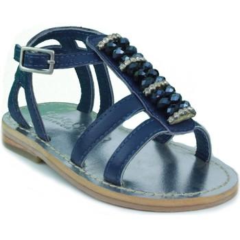 Zapatos Niños Sandalias Oca Loca OCA LOCA SANDALIA BEBE STRASS AZUL