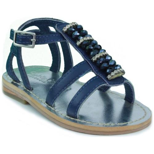 Zapatos Niños Sandalias Oca Loca OCA LOCA  STRASS AZUL
