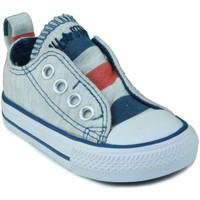 Zapatos Niños Zapatillas bajas Converse AS SLIP OX AZUL