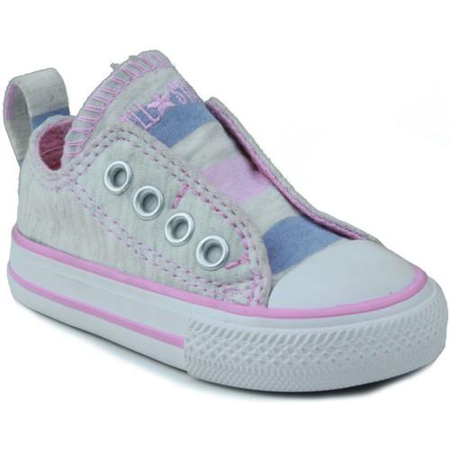 Zapatos Niños Zapatillas bajas Converse AS SLIP OX BEBE ROSA