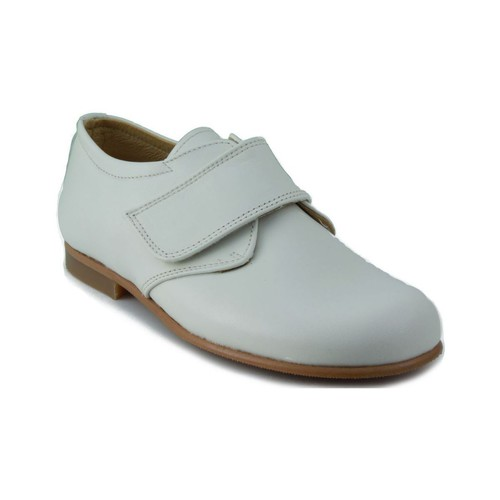 Zapatos Niños Derbie Rizitos RZTS BLUCHER NAPA POINT PORCELANA