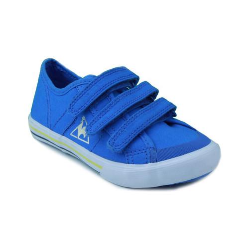 Zapatos Niño Zapatillas bajas Le Coq Sportif SAINT MALO PS STRAP AZUL