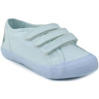 Zapatos Niños Zapatillas bajas Le Coq Sportif SAINT MALO PS STRAP BLANCO