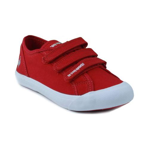 Zapatos Niños Zapatillas bajas Le Coq Sportif SAINT MALO PS STRAP ROJO