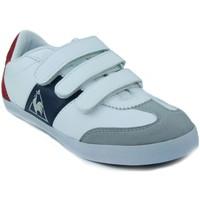 Zapatos Niños Zapatillas bajas Le Coq Sportif MEXICO PS STRAP BLANCO