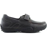 Zapatos Niños Zapatillas bajas Geox JW SNAKEN COLEGIAL MARRON