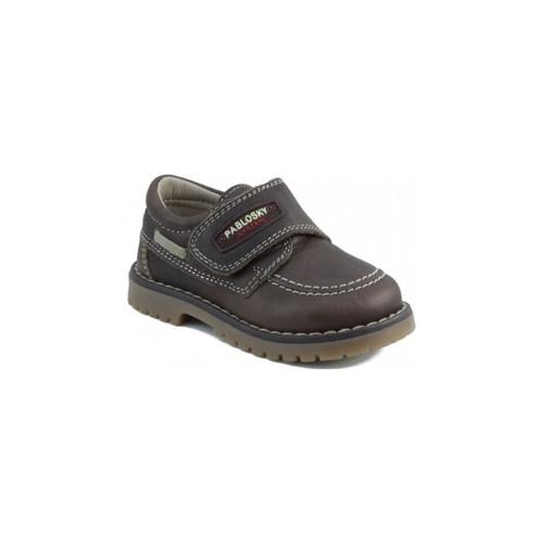 Zapatos Niños Zapatillas bajas Pablosky TOMCAT NAUTICO MARRON