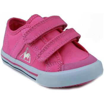 Zapatos Niños Zapatillas bajas Le Coq Sportif  DEAUVILLE PLUS ROSA