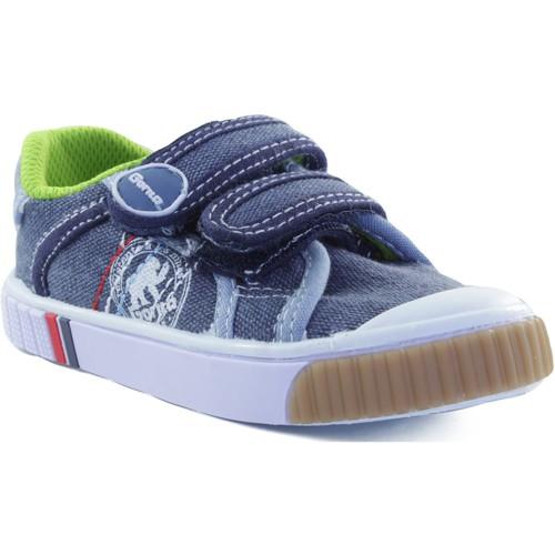 Zapatos Niños Zapatillas bajas Gorila STONE MOSS ZAPATILLA NIÑO AZUL