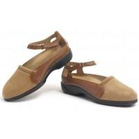 Zapatos Mujer Bailarinas-manoletinas Calzamedi TERAPEUTICO PALA ELASTICA MARRON