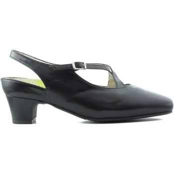 Zapatos Mujer Zapatos de tacón Drucker Calzapedic ANATÓMICO CÓMODO ANCHO FLEXIBLE NEGRO