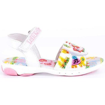 Zapatos Niña Sandalias Lelli Kelly LELLI KELLY ELEPHANT Y JIRAFFE 2 BLANCO