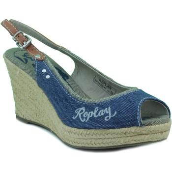 Zapatos Mujer Sandalias Replay QUINTA W NAVY