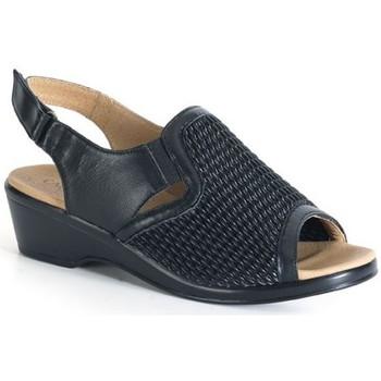 Zapatos Mujer Sandalias Calzamedi SANDALIA COMODA PALA ELASTICA NEGRO