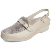 Zapatos Mujer Sandalias Dtorres SANDALIA CERRADA ANATOMICA PARA PLANTILLAS BEIGE