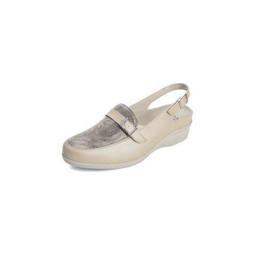 Zapatos Mujer Sandalias Dtorres PLANTILLAS BEIGE