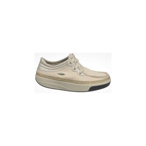 Zapatos Mujer Zapatillas bajas Mbt KITO 3 EYE LACE CANVAS W NATURAL