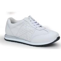Zapatos Mujer Zapatillas bajas Calzamedi DEPORTIVA BLANCA Y BLANCO