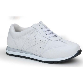 Zapatos Mujer Zapatillas bajas Calzamedi DEPORTIVA BLANCO