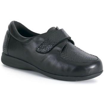 Zapatos Mujer Derbie Calzamedi S  CON ANCHO Y NEGRO