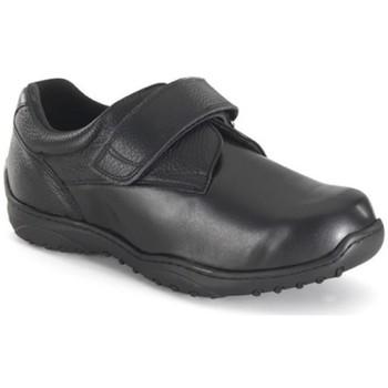 Zapatos Hombre Derbie Calzamedi ANCHO ESPECIAL DIABETICO CABALLERO MUY COMODO NEGRO