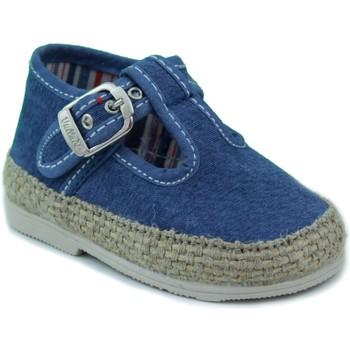 Zapatos Niños Pantuflas para bebé Vulladi CANVAS CHICO AZUL