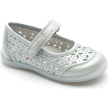 Zapatos Niña Bailarinas-manoletinas Pablosky LETINA DE CHICA PLATA