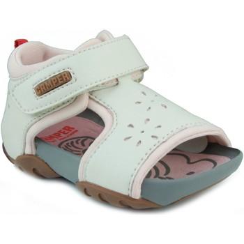 Zapatos Niña Sandalias Camper CAMPER JEDI PAU EGGS INOX HONEY BLANCO