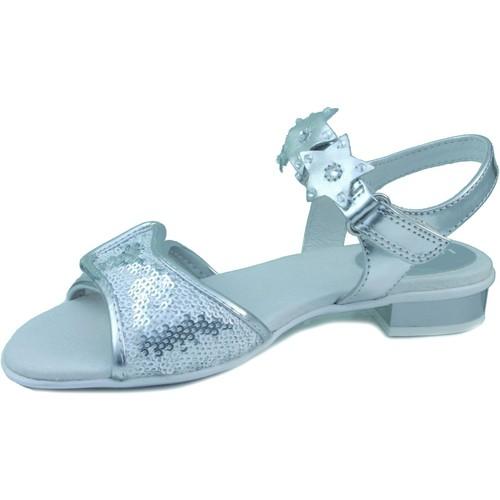 Zapatos Niña Sandalias Lelli Kelly LELLI KELLY NEW CLIC PLATA