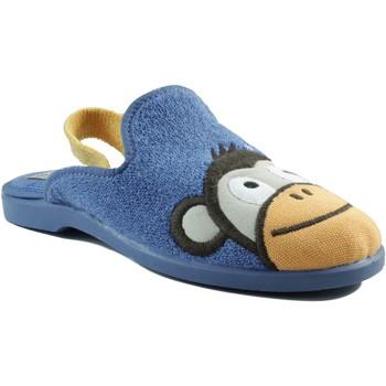 Zapatos Niños Pantuflas Vulladi DOMESTICO CHICO GOMA AZUL