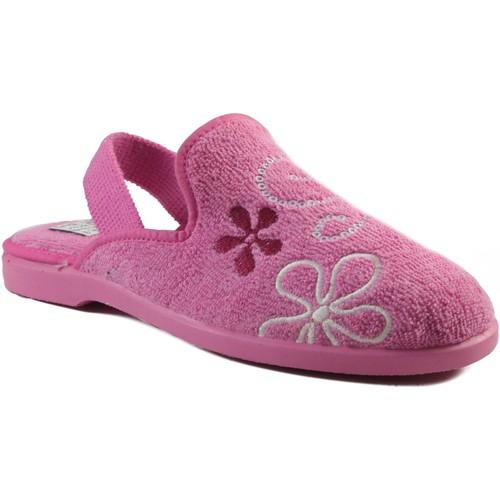 Zapatos Niños Pantuflas Vulladi CHICA IR POR CASA CON GOMA ROSA