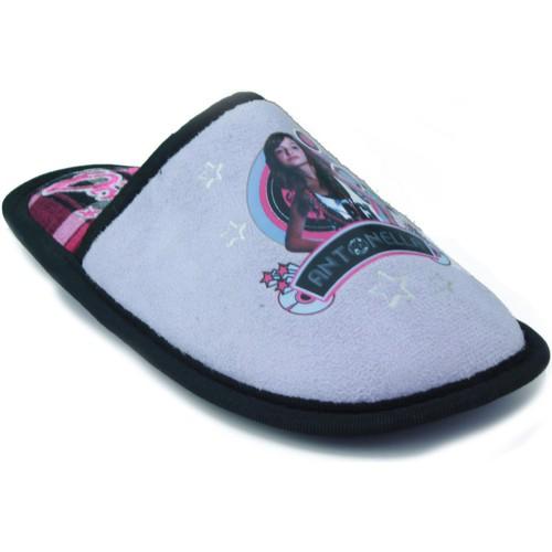Zapatos Niños Pantuflas Patito Feo IR POR CASA NIÑA MORADO