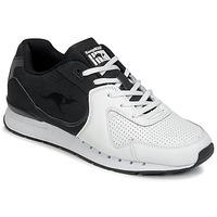 Zapatos Hombre Zapatillas bajas Kangaroos COIL-R2 TONE Blanco / Negro